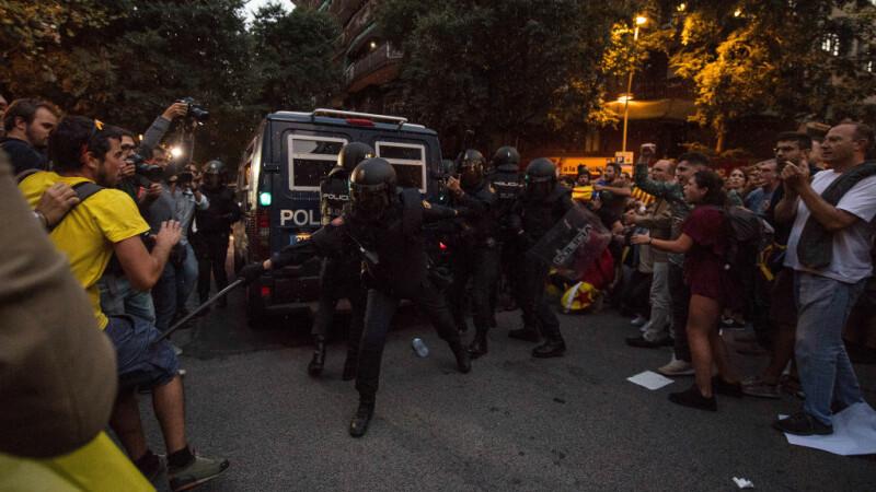 actiune a politiei in Barcelona, la sediul guvernului regional