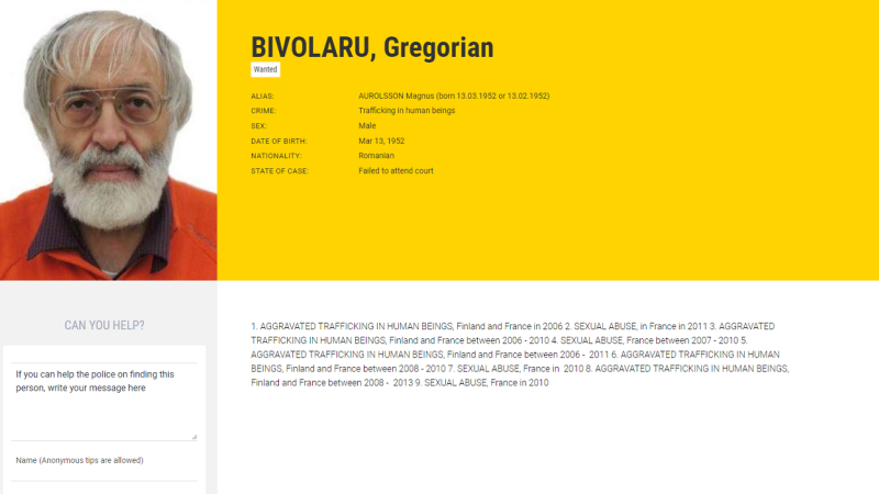 Bivolaru Most Wanted