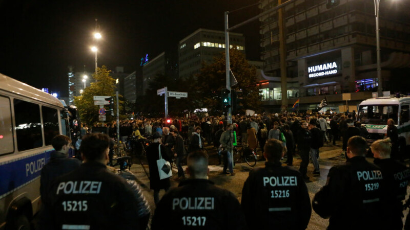 Proteste anti-nazism in Germania