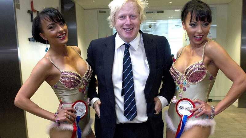 Boris Johnson şi Cheeky Girls