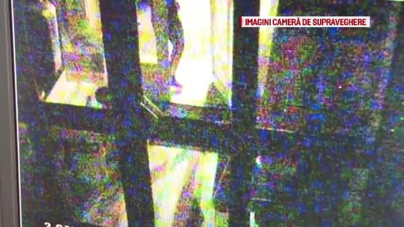 Trei hoți au încercat să fure materiale de construcție, dar s-au speriat și au fugit. VIDEO