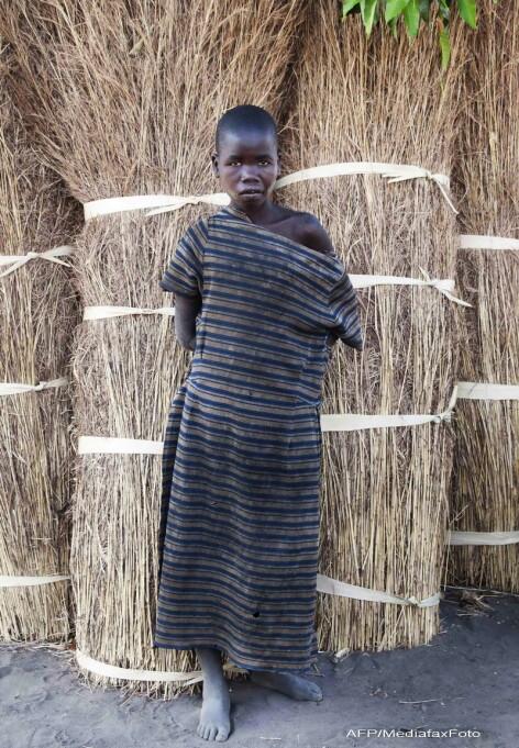 copii bolnavi, Uganda