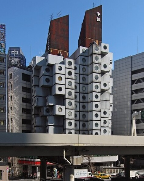 Nakagin Capsule Towers