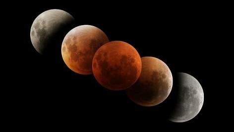 Cea mai lunga eclipsa totala de Luna din acest secol