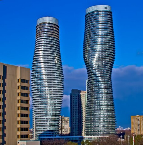 The Absolute Towers in Mississauga