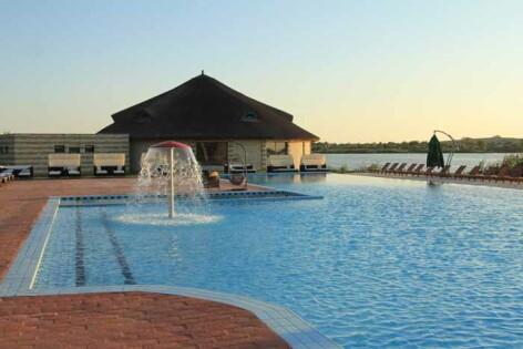 Delta Dunarii, Murighiol, resort de lux Puflene 3