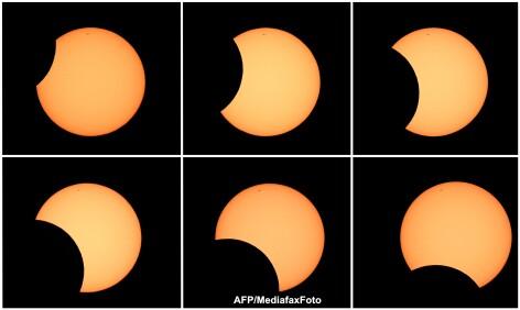 Eclipsa de soare in Australia