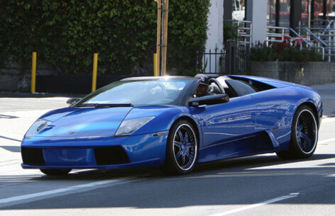 Top 10 celebrity men that own a Lamborghini