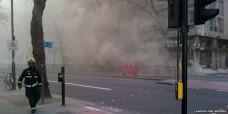 2.000 de persoane au fost evacuate la Londra. Incendiu major in centrul orasului. FOTO