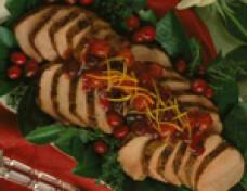 friptura de porc cu cirese
