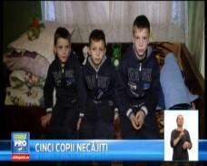 Destin amar pentru cinci copii din judetul Cluj