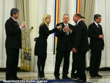 Gabriel Oprea, Elena Udrea, Laszlo Borbely si Traian Basescu