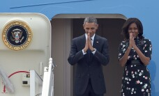 Barack Obama s-a intalnit cu noul rege al Arabiei Saudite, Salman, si a transmis condoleante pentru moartea lui(...)