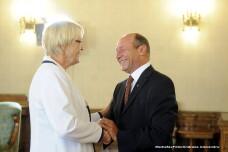 Traian Basescu si Susanne Kastner