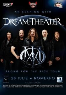 Concert Dream Theater la Bucuresti, in 2014