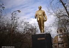 Statuia lui Lenin in Crimeea