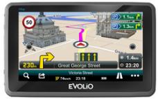 Navigator GPS Evolio Preciso + Europa