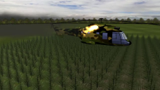 elicopter prabusit Sibiu, grafica