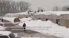 Furtuni de proportii istorice. Statul New York, ingropat in zapada: 10 persoane au murit din cauza gerului
