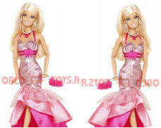 Papusa Barbie Fashionistas in the spotlight - PINK Mattel