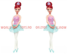 Printesele Disney - Papusa balerina Ariel Mattel