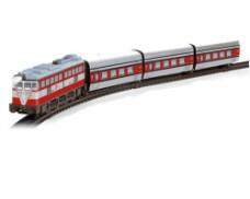 Trenulet Electric Articulado din Metal