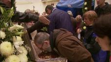 De ziua Sfantului Ciprian, mama lui Gigi Becali a mers la biserica: