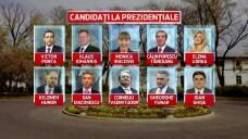 Lista candidatilor din cursa pentru Cotroceni. Cine ofera surpriza in ultimele 24 de ore pana la inchiderea(...)