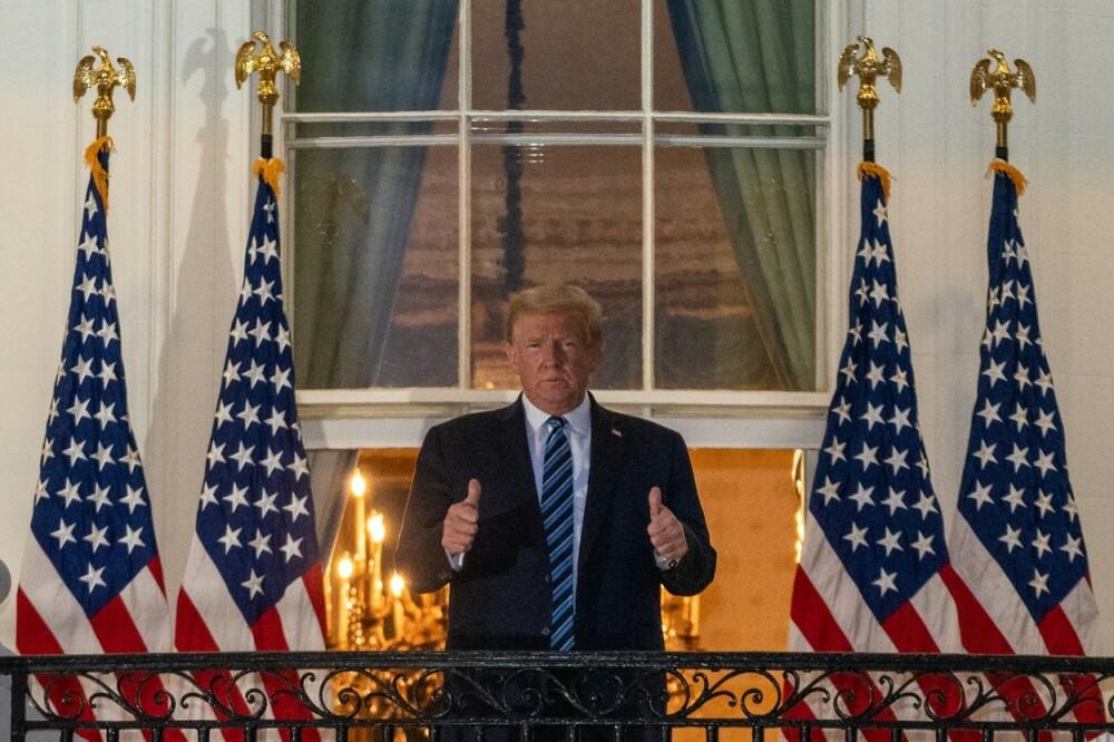 Donald Trump a revenit la Casa Albă, după ce a fost externat din spital