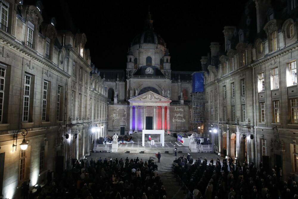 Comemorare grandioasă în Franţa pentru profesorul decapitat
