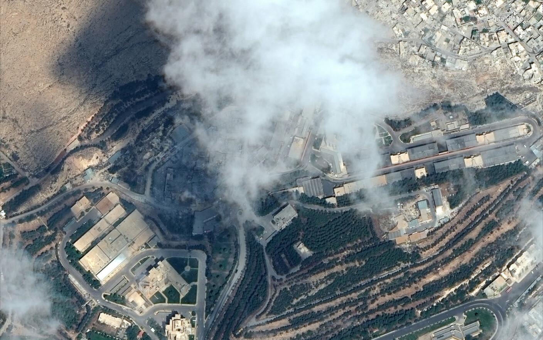 Imagini Din Satelit Cum Arată Clădirile Din Siria Atacate De Sua