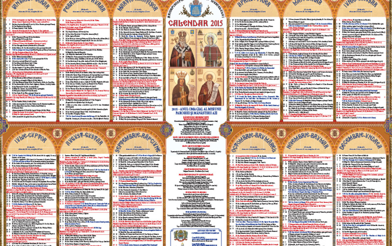 Calendar Crestin Ortodox 2022.Calendar Ortodox 2022 Despre Viața Din Romania