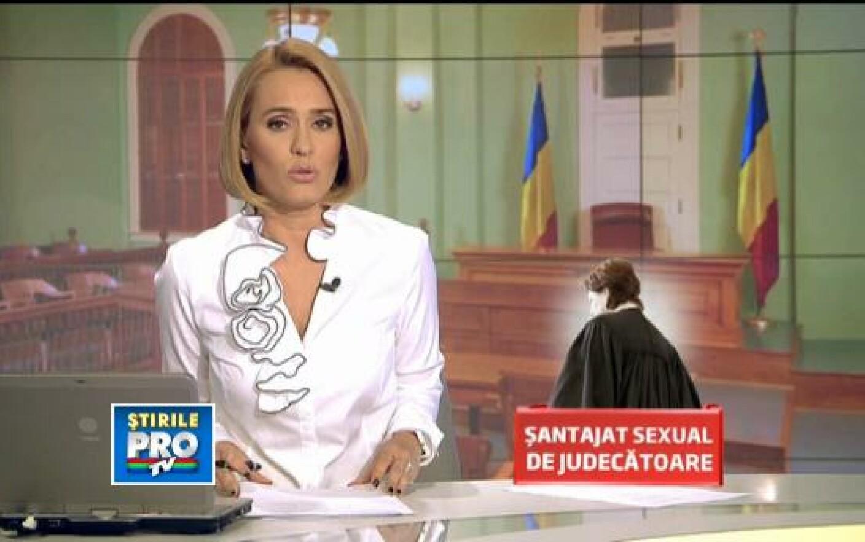 Judecatoare acuzata de coruptie sexuala