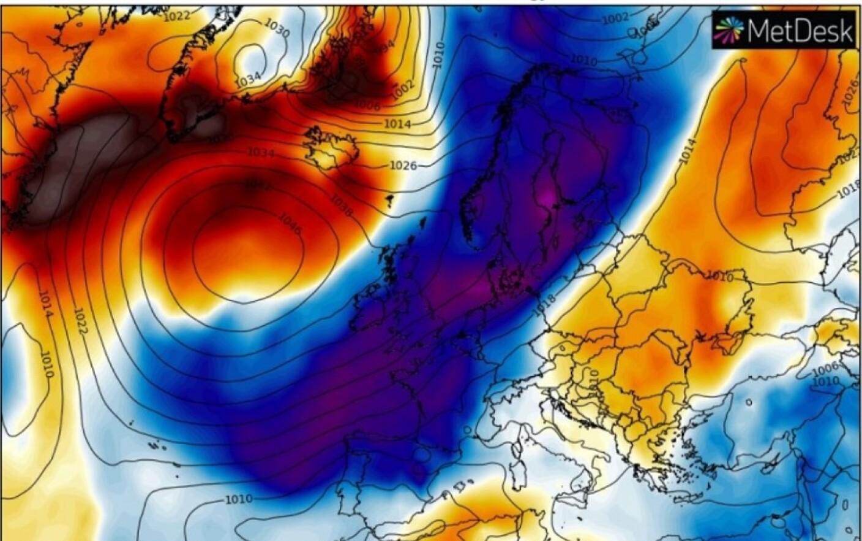 Val De Aer Arctic In Europa Harta Zonelor Afectate Stirileprotv Ro