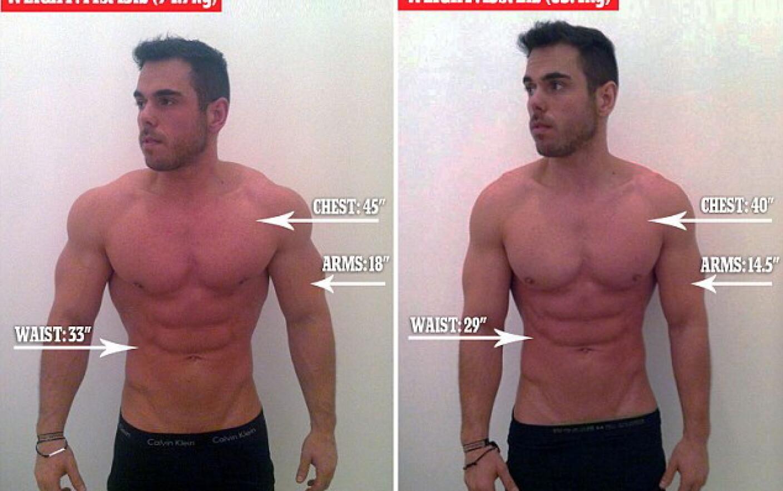 Pierdere în greutate bărbat în vârstă de 40 de ani)