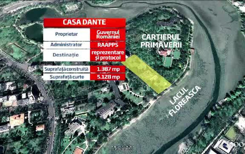 Vila Dante Subiectul De Scandal Intre Guvern Si Traian Basescu
