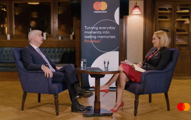 Image result for Interviu eveniment cu șeful Mastercard. Cât de sigure sunt tranzacțiile și ce inovații ne rezervă viitorul