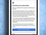 Mesajul trimis de Facebook utilizatorilor cu date furate. Cum poți verifica dacă ești afectat