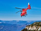 Accident la schi pe pârtia de la Șureanu, O femeie a fost preluată de elicopterul SMURD