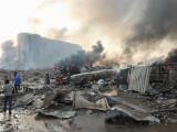 Zeci de răniţi în urma unei explozii puternice în portul Beirut