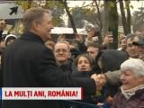 Klaus Iohannis, baie de multime