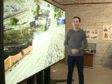 iLikeIT. Gadgeturi extreme: televizorul cu diagonala de 2,8 metri de la Cotroceni