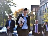 Procurorul sef al DNA, Laura Codruta Kovesi, soseste la sediul CSM