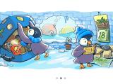 Google marchează venirea sărbătorile de iarnă printr-o serie interactivă de doodle-uri