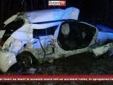 Accident teribil în Banat. Doi elevi la Teoleogie au murit după ce mașina lor a derapat în curbă