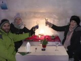 Turiștii din toată lumea, impresionați de hotelul de gheață de la Bâlea Lac. `A fost visul meu`