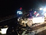 Grav accident în Ialomița. Două mașini au fost distruse complet