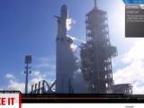 iLikeIT. Lansare cu succes pentru Falcon Heavy, cea mai puternică rachetă din lume
