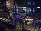 Manifestaţii de amploare în ţară: 10.000 de persoane la Cluj Napoca, 5.000 la Timişoara şi 4.000 la Sibiu
