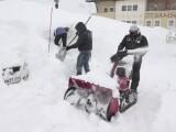 Mărturii ale turiștilor români din Austria, după ninsorile puternice. Nămeți de 3 metri